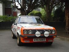 1977 Ford Escort RS2000 Gr.1 Zakspeed - Works Racing Dept. Group 1 Rally Car