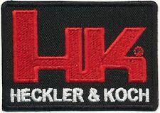H&K Heckler und Koch Iron On Stoffaufnäher