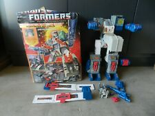 Vintage Hasbro G1 Transformers Fortress Maximus Near Complete 1987 w/ Box 1 Ownr