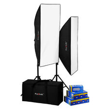 Fotodiox Pro CFL-50120 Compact Studio Continuous Fluorescent Softbox Lighting Ki