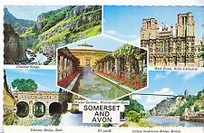 Somerset Postcard - Views of Somerset and Avon   BH1414