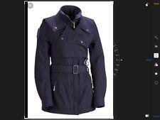 Adidas Stella McCartney dusky purple grey ski jacket trench coat EU 40 UK10 12