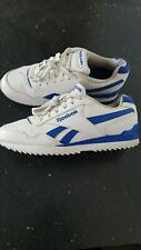 Reebok  Blue/White Classic Leather Trainers Size 7 UK .