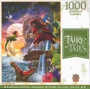Steve Crisp MasterPieces 1000 Jigsaw Puzzle Peter Pan NIB