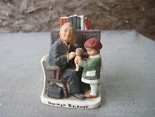 1979 Small Norman Rockwell Porcelain Figure based on Mar.9,1929 Picture #Nr-212
