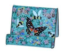 Art Gift Enamel Handpaint Copper Cell phone Holder Business card Butterfly Bee