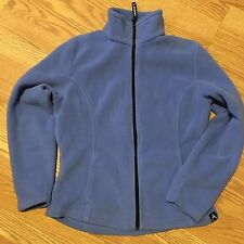 Women's Avalanche Wear Lavender Fleece Full Zip-Up Jacket Small - Free Shipping!