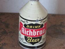 RICHBRAU BEER.  REALLY NICE.  CONE TOP SOLID. ONE