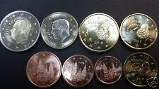manueduc   ESPAÑA 2016  REY  FELIPE VI  8 Monedas  , Sin Circular
