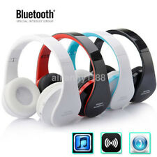 Foldable Wireless Bluetooth Super Bass Stereo Headset Headphone Earphone w/ Mic