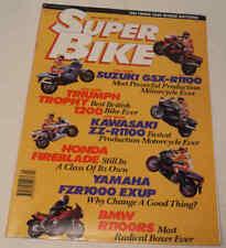 SuperBike 4/93 BMW R1100RS K1100RS Suzuki GSX-R1100W, Triumph Daytona 1200, Exup