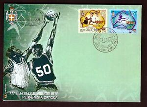 Bosnien Herzegowina (Serbische Republik) Mi-Nr. 174/8 (Block 3) - Olympia 2000