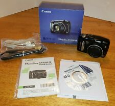 Photo camera Canon Power Shot SX120 IS Original Box CD Paperwork Works Great !