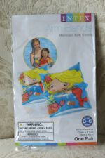 2 Intex Arm Bands - Training Aids, Swimming Floats, Cute Mermaids! For Ages 3-6