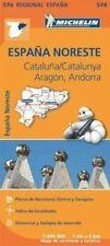 Aragon Cataluna - Michelin Regional Map 574: Map