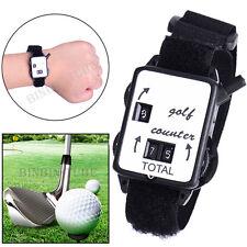 Mini Wristband Golf Stroke Score Counter Keeper Watch Putt Shot Scorer Golf Kits