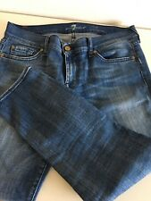 7 seven for all mankind Jeans W 28 Roxanne crop skinny
