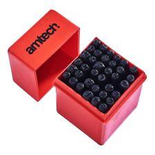 36pc Número y Letra Punch Set Sello De Chasis Acero al carbono 5.5mmx6mm - Amtech