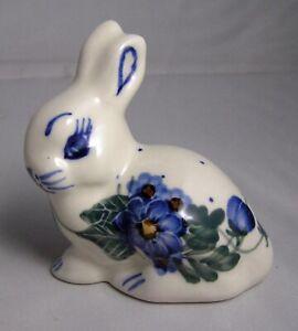"UNIKAT/BOLESLOWIEC Polish Pottery  ""RABBIT"" Figurine"
