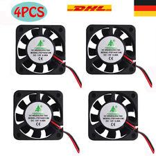 4 Stück Leiser Lüfter  3D Drucker Fan 12V 0.08A DC Mini-Lüfter 40X40X10mm Kabel