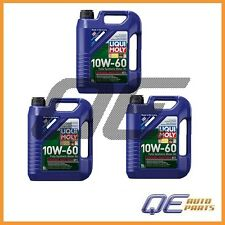 15-Liters Engine Oil Lubro Moly 2024 10W-60 Fully Synthetic Race Tech