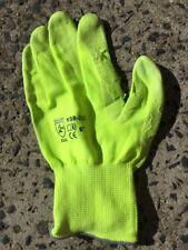 50 gloves work  nitrile mens AU size 9 gloves bright green slightly damaged 2nds