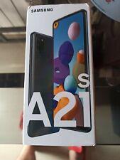 Samsung Galaxy A21s SM-A217F/DSN - 64GB - Negro LIbre (SIM doble) Nuevo!!