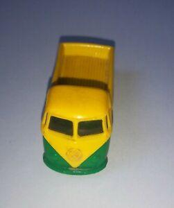 Lego Classic 1:87 VW Bulli Pritsche grün gelb alt rare old vintage mursten