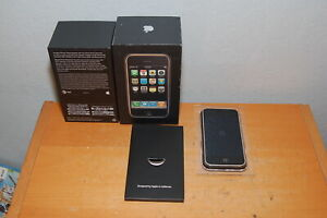 COLLECTABLE Apple iPhone 1st Gen - 8GB - Black A1203 (GSM) ***NOT MATCHING SN***
