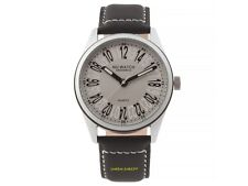 NO-WATCH 24 Hour Clock Quartz CM1-2821 only 500 Piece Leather band 3atm NEW 2016