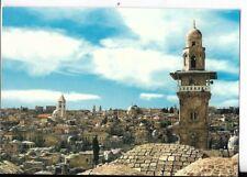 jerusalem postcard,general view old city