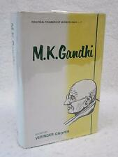 Grover M.K. GANDHI Political Thinkers of Modern India - 7 1996 Deep & Deep 1stEd