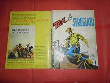 TEX GIGANTE da lire 250 in copertina N°132 c-ORIGINALE 1 edizione AUDACE BONELLI