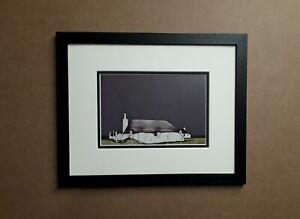 Ron Lawson   art print(Drover's Cottage Barrapol Tiree