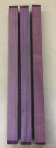 Purple Heart | Amaranth | Drechselholz | Tonholz | Tonewood | 720 x 50 x 50 mm