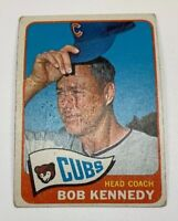 1965 Topps # 457 Bob Kennedy Baseball Card Chicago Cubs