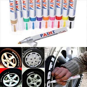 Universal Waterproof Permanent Paint Marker Pen SUV Tyre Tire Tread Rubber Metal