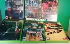 Xbox preloved sechs Spiele Action-Krieg Bundle alle VGC