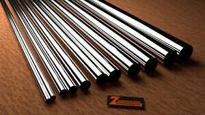 Edelstahlrohr 1000mm dünnwandig V2A / V4A Wandstärke von 0,2mm-1,0mm Edelstahl