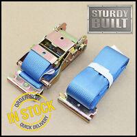 """4 Curtain Van Straps f Truck Trailer Van Truck Strap Tarp Buckle Strap 1 3//4/"""""""