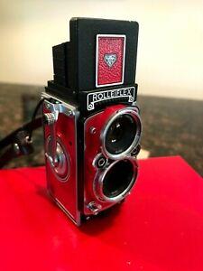 RARE Red RolleiFlex MiniDigi (Mini Digi) AF5.0 Digital Camera FREE SHIPPING