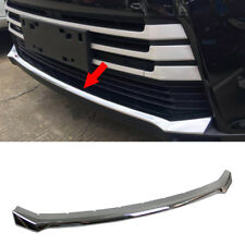 Fit For Toyota Highlander 2018 Chrome Front Bumper Protector Cover Trim