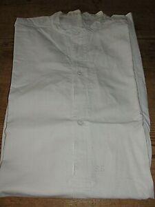 ANTIK Herren Hemd Nachthemd Leibwäsche lange Arme um1900   Monogram EL