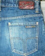 *HOT ITALY Men DSQUARED2 @ Slim SKINNY DARK Denim Jeans 29 x29 (Altered from 30)