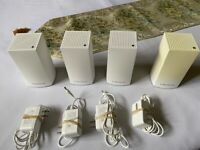 Linksys Velop Dual Band AC1200 (VLP01) Mesh WiFi Nodes (4 Units set)