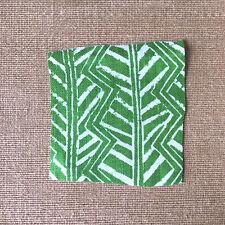 Palm Beach Green Christopher Farr Cloth FLEMING 5.5 yds Drapery Curtain Fabric