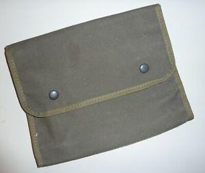 Fahrzeugbegleitpapier Tasche, Dokumententasche; oliv Bundeswehr