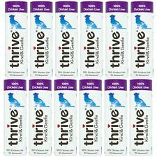 12 x Thrive Kind & Gentle Dog Treats 100% Chicken Liver Tube, Natural Meat - 25g