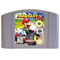 Marioed Kart 64 English Language for 64 bit USA/EU Version Video Game Cartridge