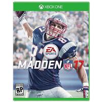 Madden NFL 17 (Microsoft Xbox One, 2016)